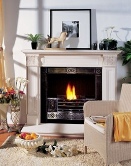 Acaanthus Marble Fireplace